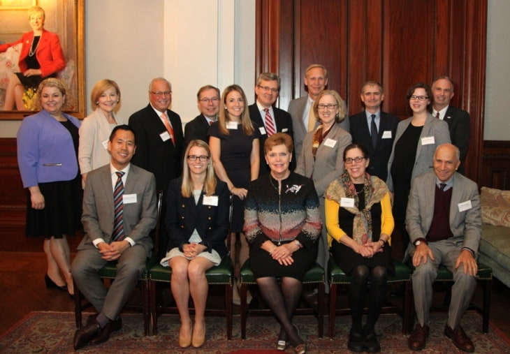 Group photo of the Epstein Award honorees